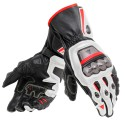 Guante Dainese Full Metal 6 black/ white /lava red